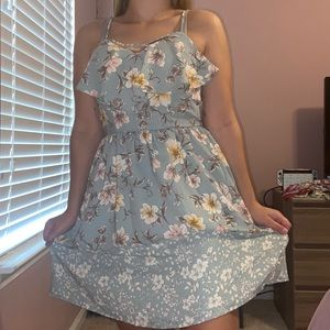 floral dress (never worn)